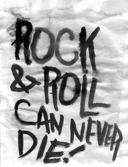 Um dia sem rock não significa nada... Long live! \m/
